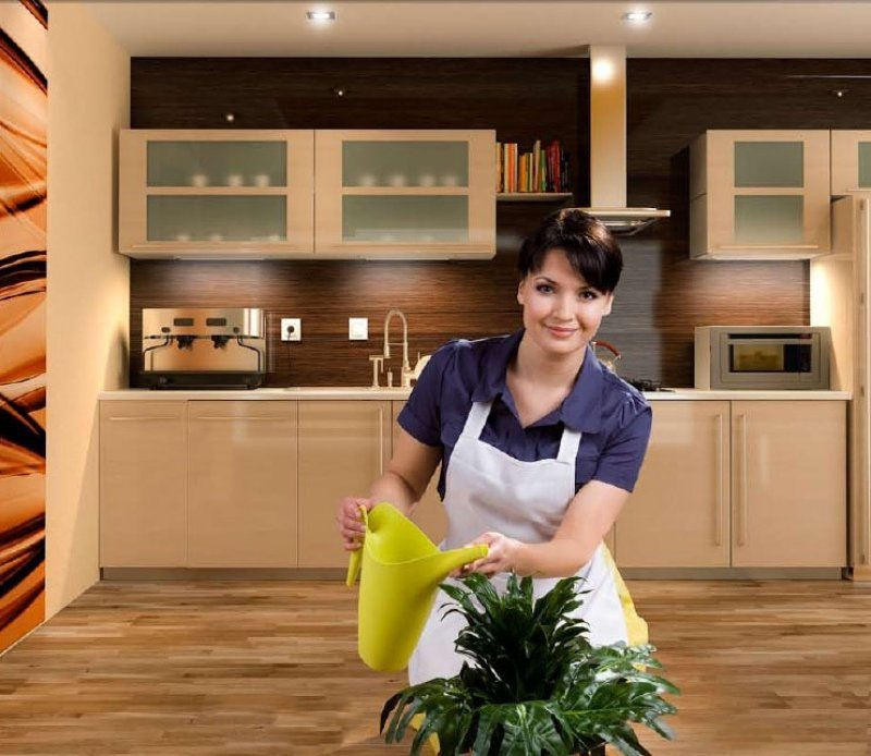 Parket En Houten Vloeren In De Keuken